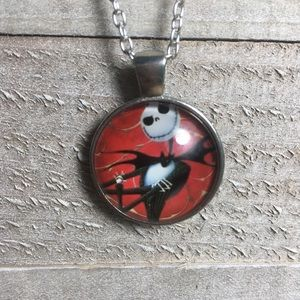 Nightmare Before Christmas Jack Cabochon Necklace